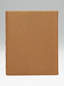 Graphic Image - Leather Desk Address Book