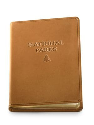 GRAPHIC IMAGE Leather National Parks Journal
