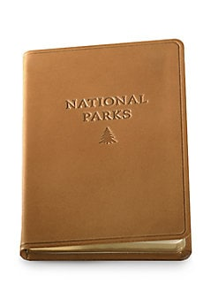 Graphic Image - Leather National Parks Journal