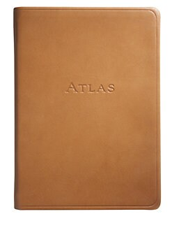 Graphic Image - Leather Traveler's Atlas