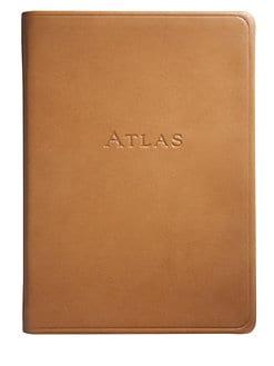 Graphic Image - Leather Traveler's Atlas