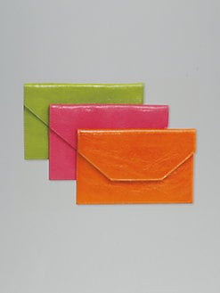 Graphic Image - Leather Envelope/Medium