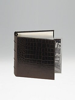Graphic Image - Leather Croc Photo Album/Small