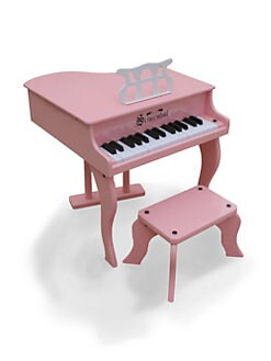 Schoenhut Piano - Kid's Fancy Baby Grand Piano/Pink
