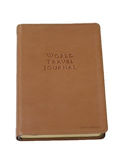 Graphic Image - Personalized World Travel Journal