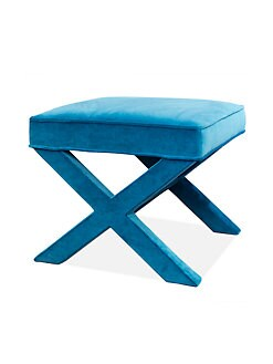 Jonathan Adler - Cotton Velvet X Bench