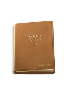Graphic Image - Personalized Leather National Parks Journal