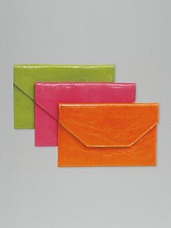 Graphic Image - Personalized Leather Envelope/Medium