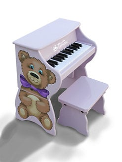 Schoenhut Piano - Piano Pals/Teddy Bear