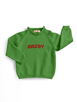 MJK Knits - Infant's, Toddler's & Kid's Personalized Name Sweater
