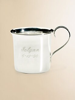 Cunill - Personalized Silver Baby Cup