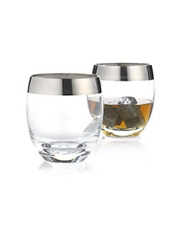 Wine Enthusiast - Madison Avenue Whiskey Glasses, Set of 2
