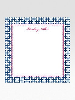 Dabney Lee Stationery - Personalized Square Notepads