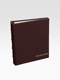 Graphic Image - Personalized Leather Album/Small