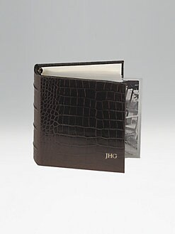 Graphic Image - Personalized Leather Photo Album/Small