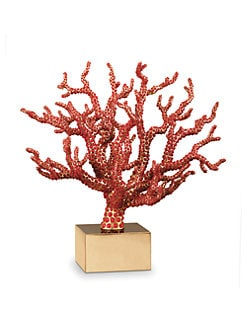 L'Objet - Coral-Encrusted Branch Sculpture