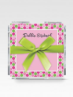 The Chatsworth Collection - Personalized Memo Squares/Bubbles