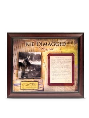 Joe DiMaggio Diaries Collage