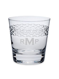 Rolf Glass - Personalized Double Old Fashioned Glasses, Set of 4