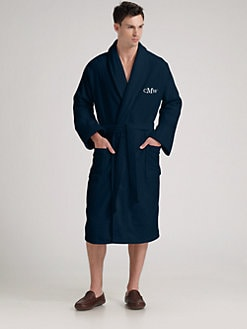 American Terry Co. - Personalized Plush Terry Velour Robe