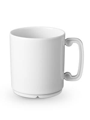 Han White Porcelain Mug