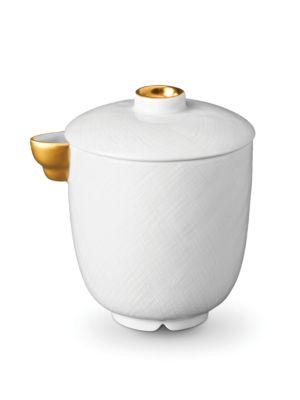 Han 24k Gold-Trimmed Porcelain Creamer