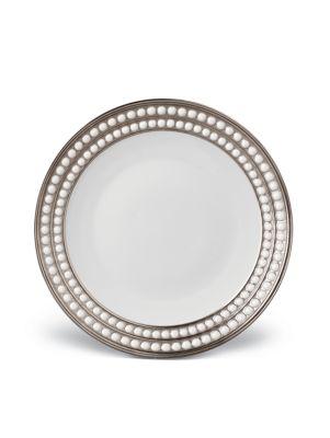 Perlee Pocelain and Platinum Dessert Plate