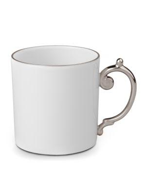 Aegean Porcelain and Platinum Mug