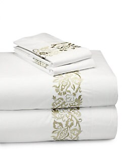SFERRA - Saxon Pillowcases, Set of 2