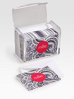 Dabney Lee Stationery - Personalized Stationery Set/Paisley
