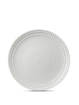 Perlee White Dessert Plate