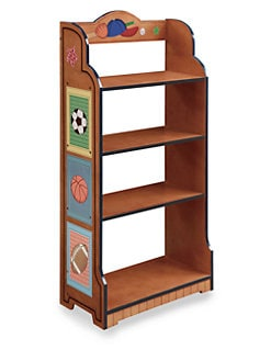 Teamson - Little Sports Fan Bookcase