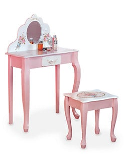 Teamson - Vanity Table and Stool Set