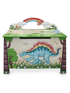 Teamson - Dinosaur Kingdom Toy Chest