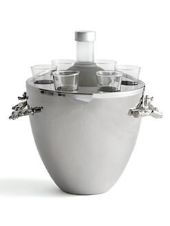 Michael Aram - Ocean Coral Vodka Service & Bucket
