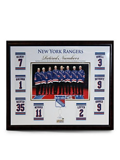 Steiner Sports - New York Rangers Retired Numbers Collage