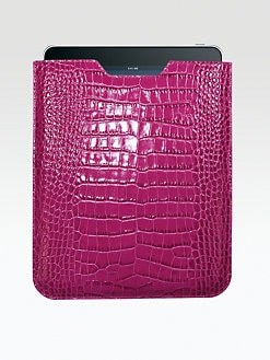 Graphic Image - Croco Leather Sleeve for iPad