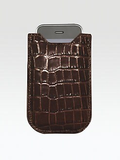 Graphic Image - Croco Leather Case for iPhone 4/4S