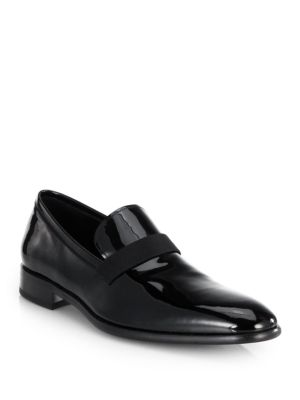 Antoane Patent Leather Slip-On Loafers