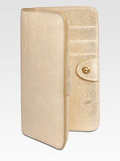 GiGi New York - Metallic Leather Mini iPhone Case
