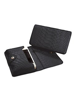GiGi New York - Embossed Leather Mini iPhone Case