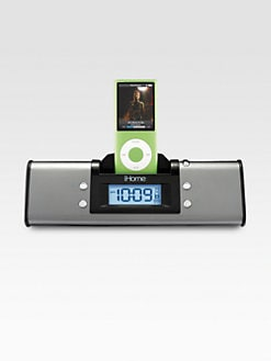 iHome - Portable Alarm Clock Speaker System for iPhone or iPad