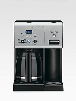 Cuisinart - Coffee Plus 12-Cup Programmable Coffeemaker