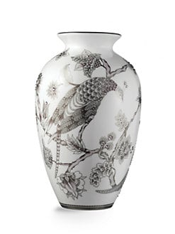 Prouna - Pavo Silver Vase