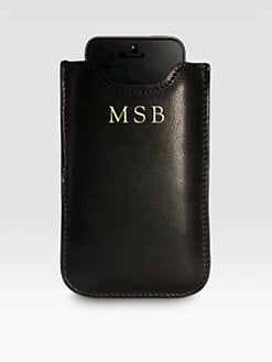 Graphic Image - Leather iPhone 5 Case