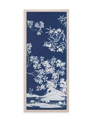 Two Panel Tree Print