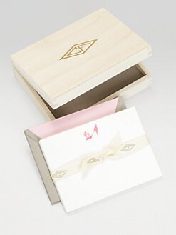 Charles Fradin Home - Letterpressed Thank You Notes/Shoe