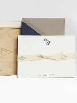 Charles Fradin Home - Letterpressed Thank You Notes/Anchor