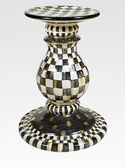 MacKenzie-Childs - Courtly Check Pedestal Table Base