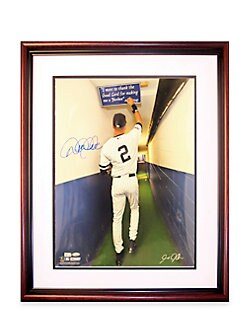 Steiner Sports - Derek Jeter Autographed 16 X 20 Framed Photograph